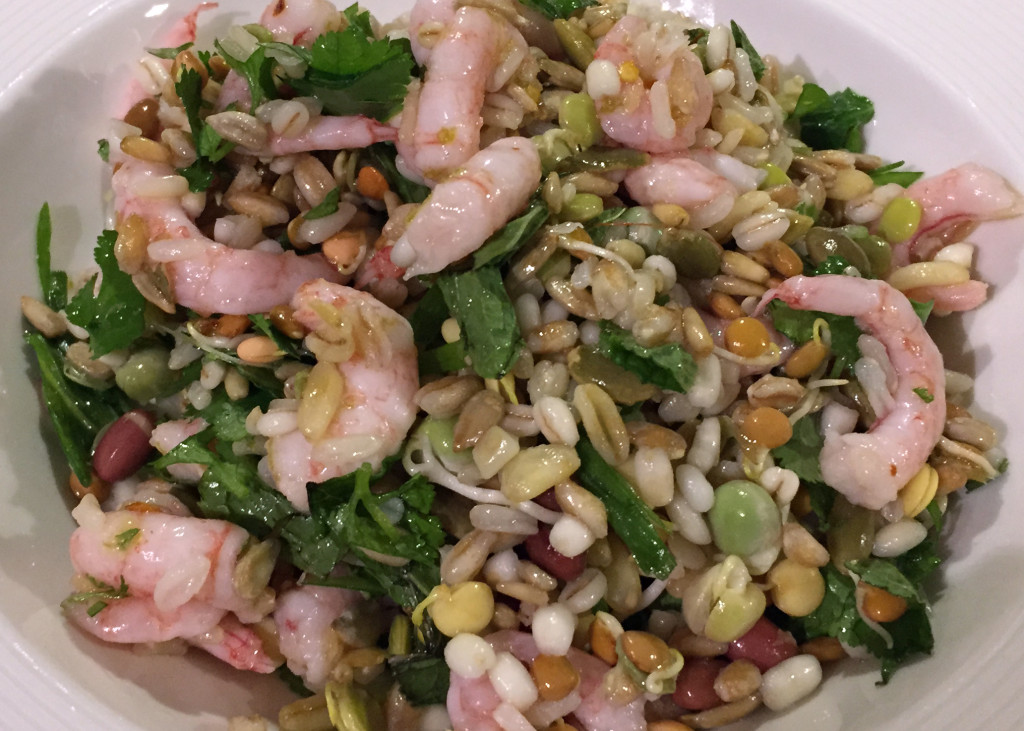 Asian grain salad