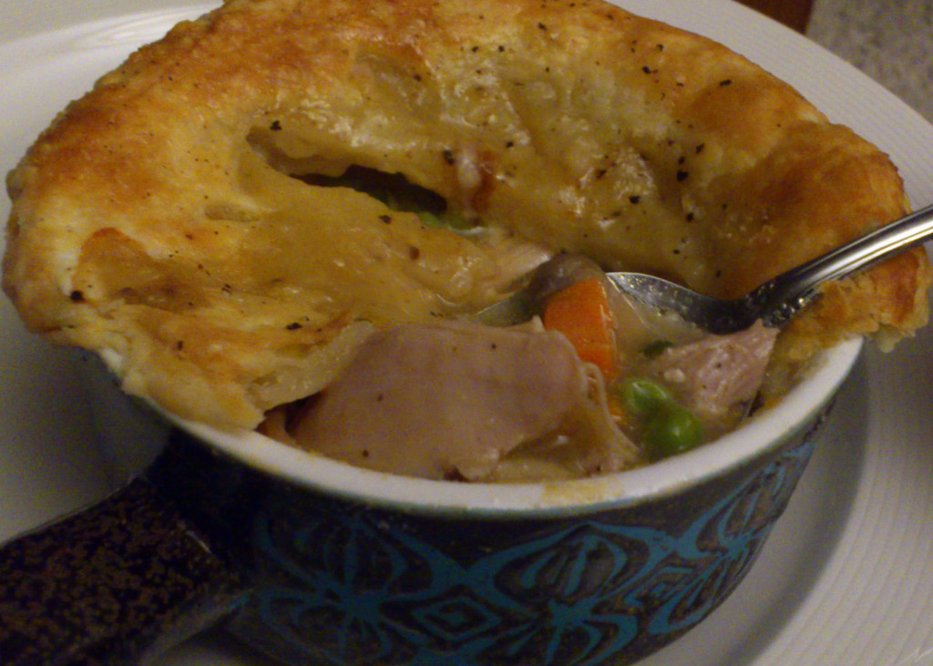 chicken pot pie end